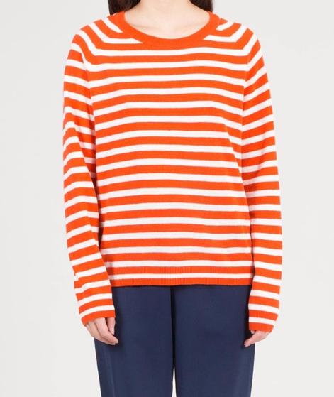 MADS NORGAARD Kaxa Pullover orange/ecru