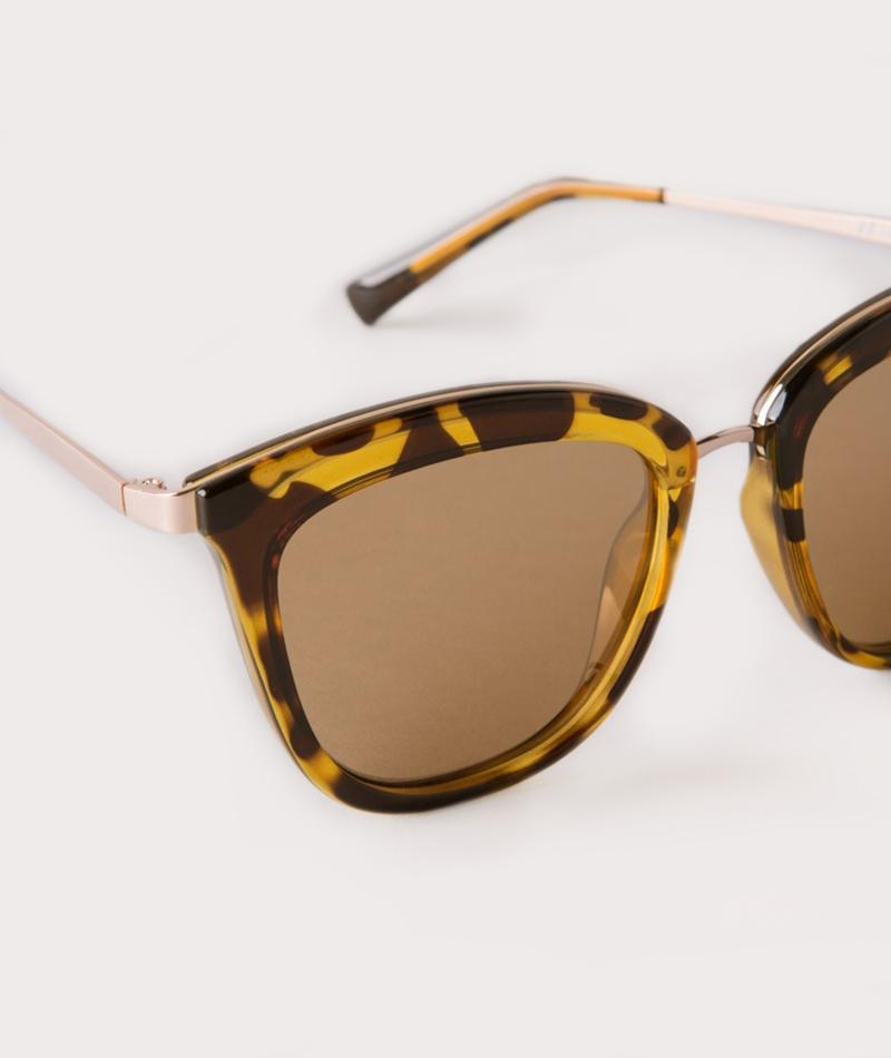 LE SPECS Caliente Sonnenbrille syrup tort