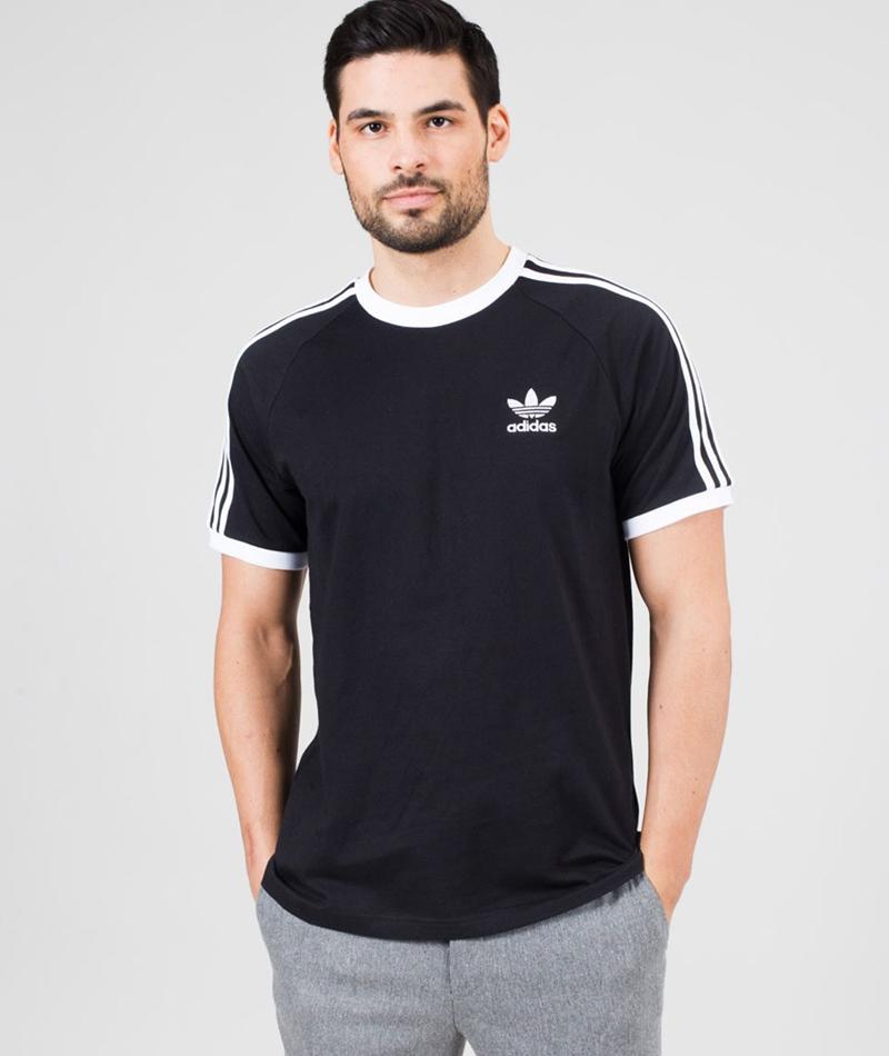 ADIDAS 3 Stripes T-Shirt black