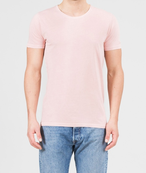 REVOLUTION Cotton dyed T-Shirt pink