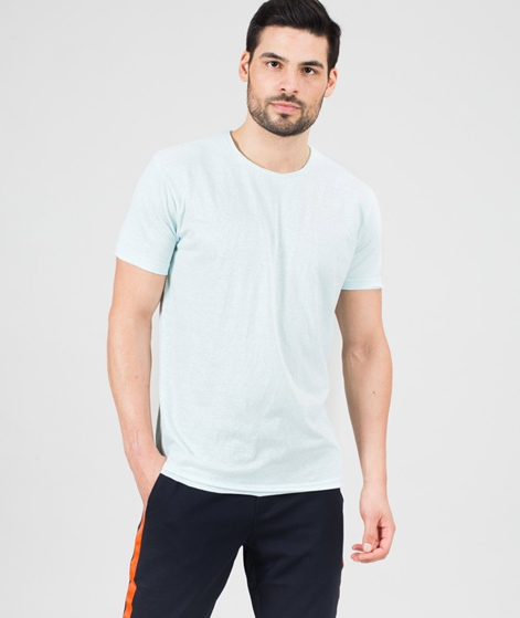REVOLUTION Round neck T-Shirt aqua