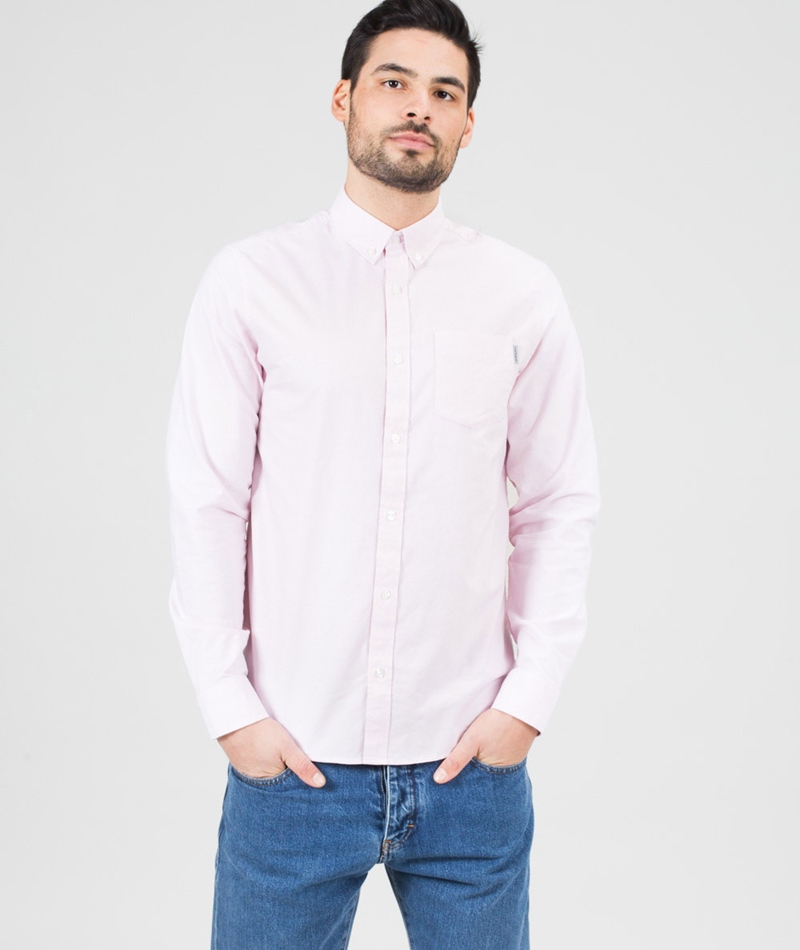 CARHARTT L/S Button Down  Hemd rose