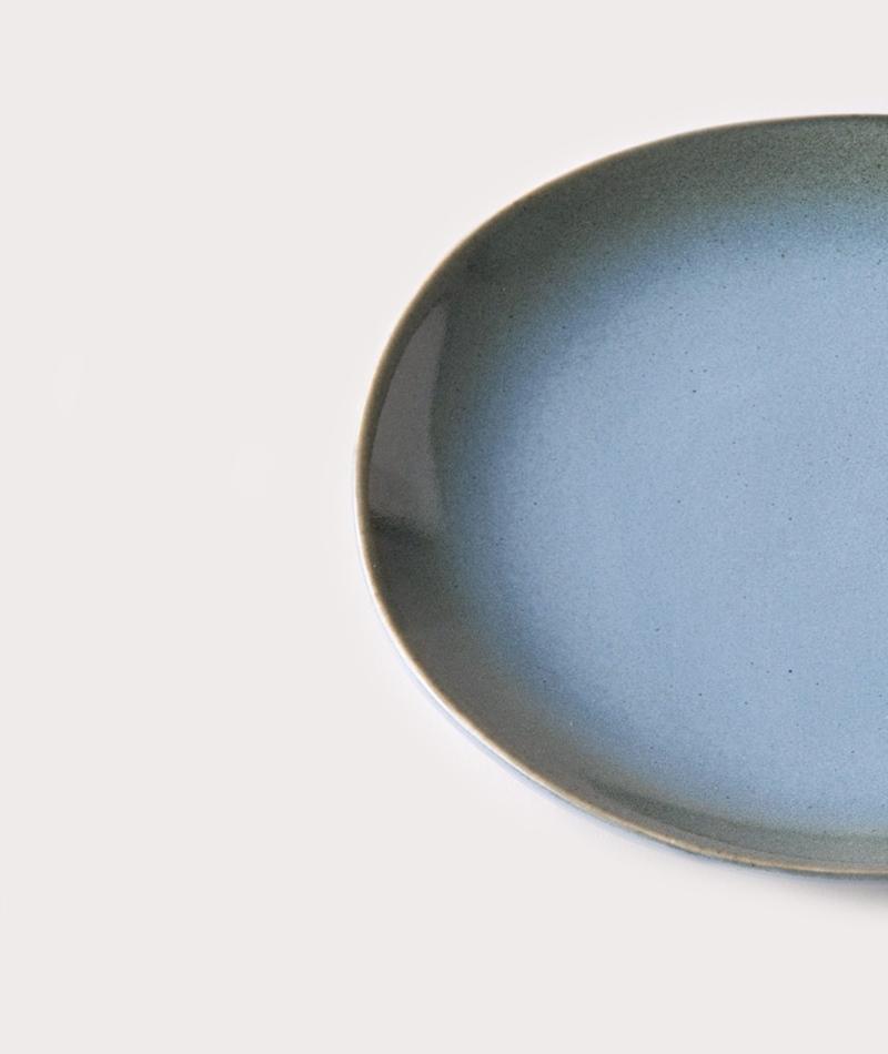 HKLIVING 70`s Dessertteller 17 bluegreen
