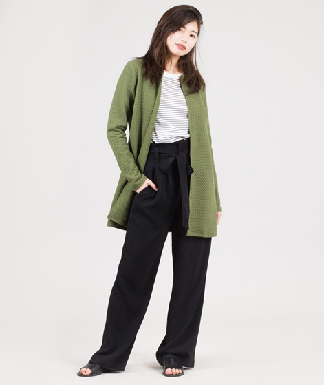 VILA Vinaja New Long Cardigan chive