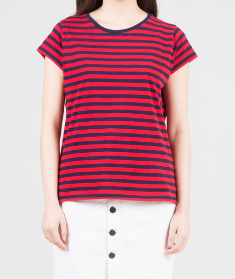 MADS NORGAARD Teasy T-Shirt navy/red