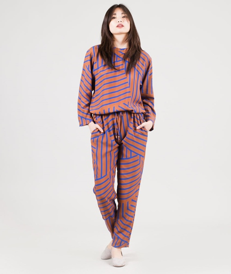 MADS NORGAARD Viscose Overall mid brown