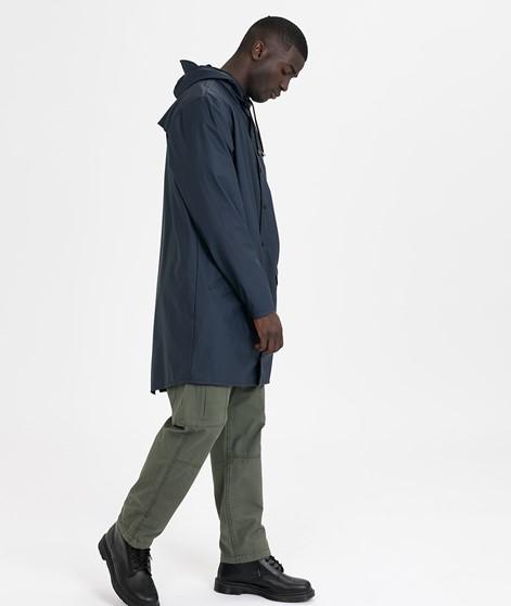 RAINS Long Jacke blue