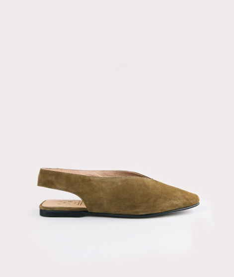 KMB A1943 Slingback Sandale moosgrün