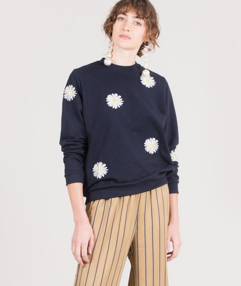 MOVES BY MINIMUM Varis Sweater navy