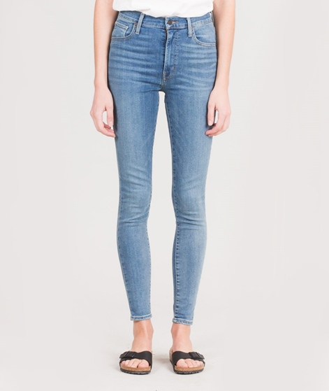 LEVIS Mile High Super Skinny Jeans cards
