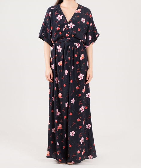 JUST FEMALE Olivia Maxi Kleid roses aop