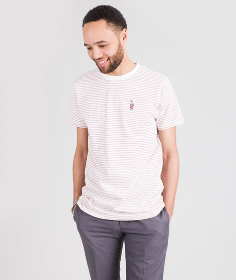 WEMOTO Shake T-Shirt offwhite-pink