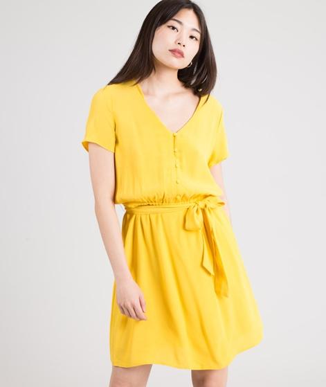 DES PETITS HAUTS Sebka Kleid jaune