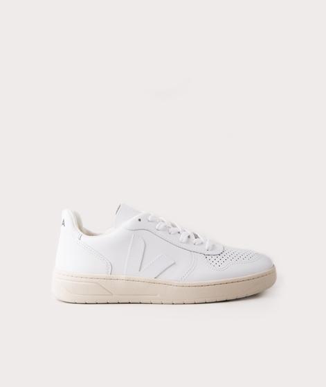 VEJA V10 Leather Sneaker extra white