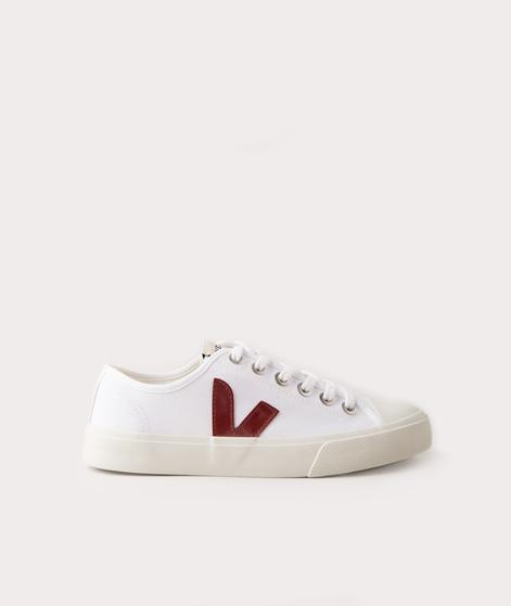 VEJA WATA Canvas Sneaker white marsala