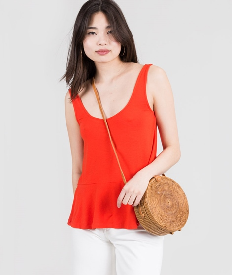 M BY M Maui Gogreen Luxe Top tangerine