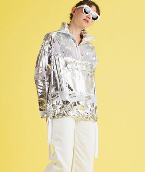 NIKE W NSW Jacke Metallic white