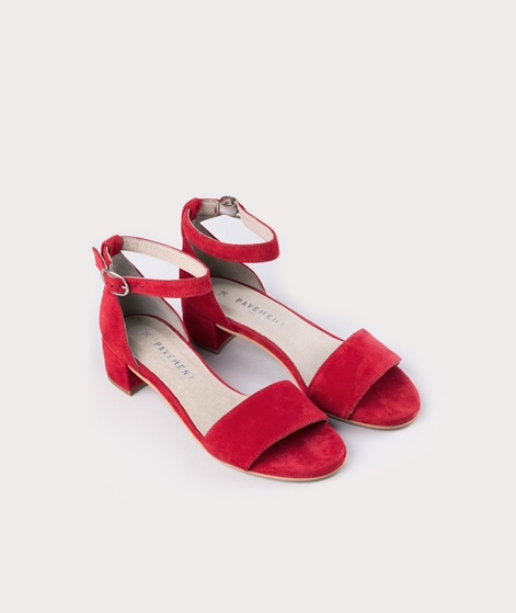 PAVEMENT Ninna Sandalette red suede
