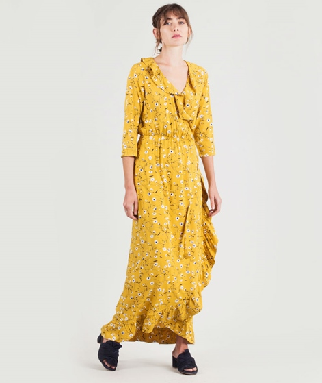 MINIMUM Albinka Kleid gelb
