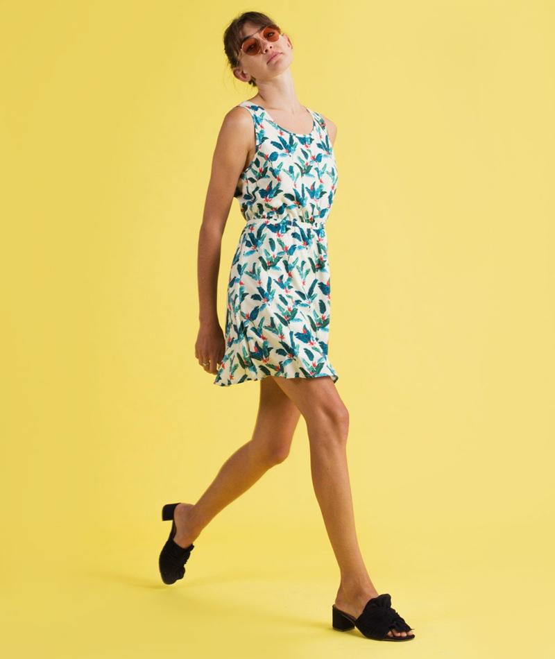 POP COPENHAGEN Jungle Printed Kleid jung