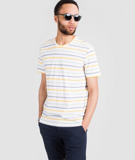 MINIMUM Wilson Y/D Striped T-Shirt ecru