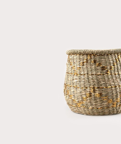 LIV Rumba Basket klein gold pattern