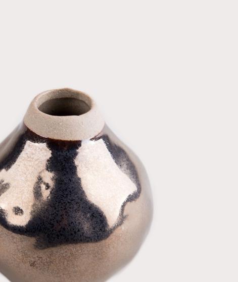 LIV Vase Ceramic round