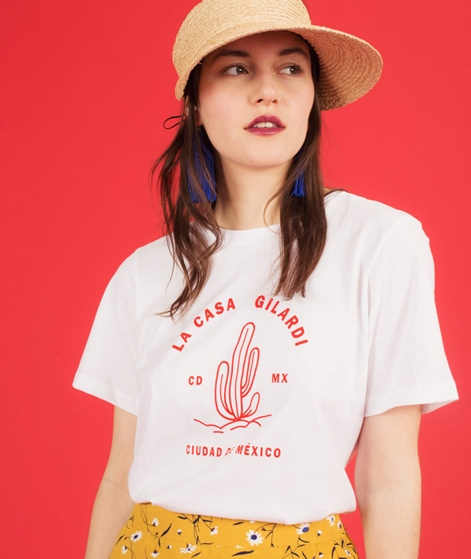 JUST FEMALE Gilardi T-Shirt  white