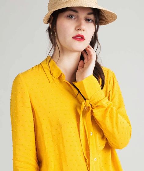 ANOTHER LABEL Garreau L/S Bluse golden