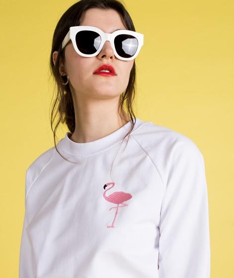 POP COPENHAGEN Flamingo Hoodie white