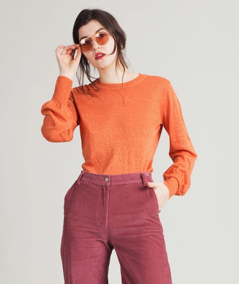 SECOND FEMALE Hafina Pullover orange
