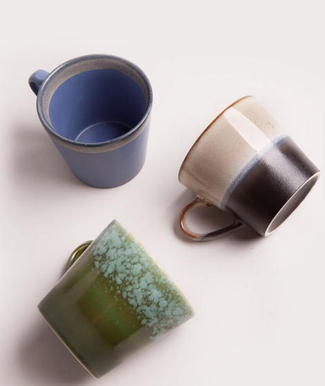 HKLIVING Cappuccino mug grass