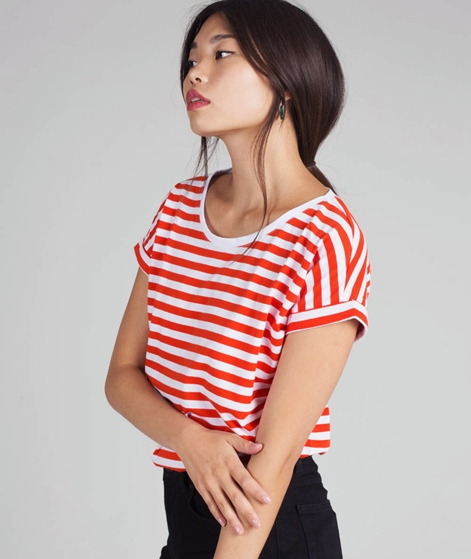 VILA Vidreamers Pure T-Shirt orange/opt