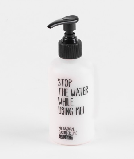 STOP THE WATER Handcreme Cucumber Lime