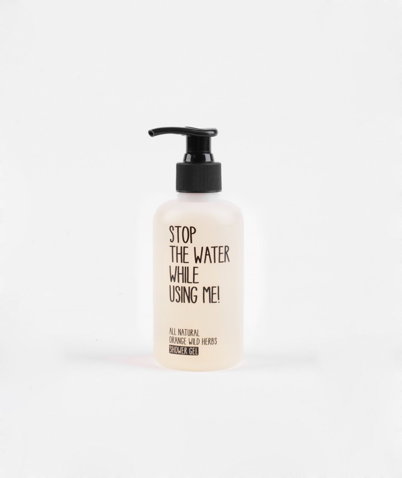 STOP THE WATER Shower Gel Orange/Herbs