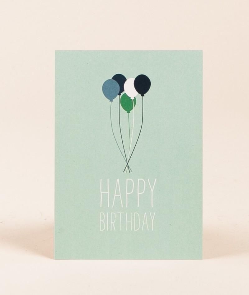 PAPIER AHOI Happy Birthday Ballon