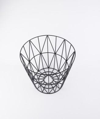 FERM LIVING Wire Basket klein schwarz