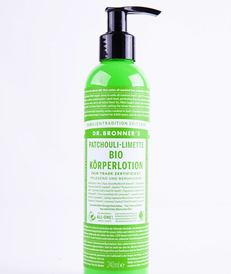 DR.BRONNER'S Lotion Patschouli/Lime