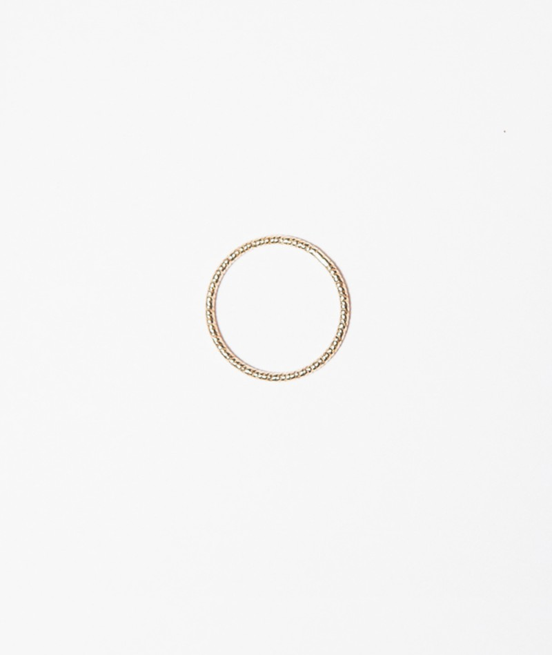 JUKSEREI Sparkling Ring gold