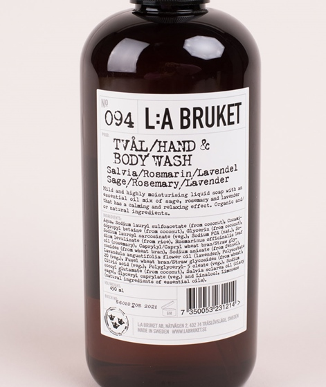 LA BRUKET No. 94 Liquid Soap Rosemary