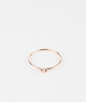 JUKSEREI Two Pollen Ring gold