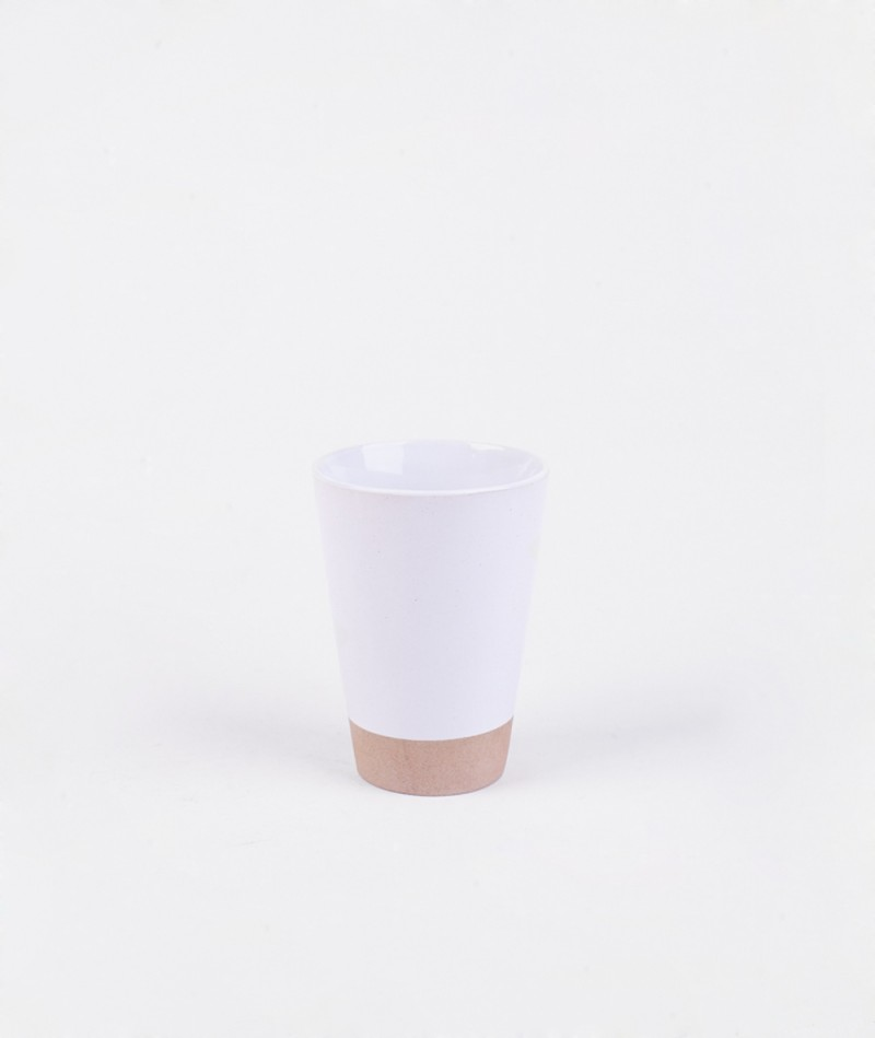 HOUSE DOCTOR Mug Solid clay white