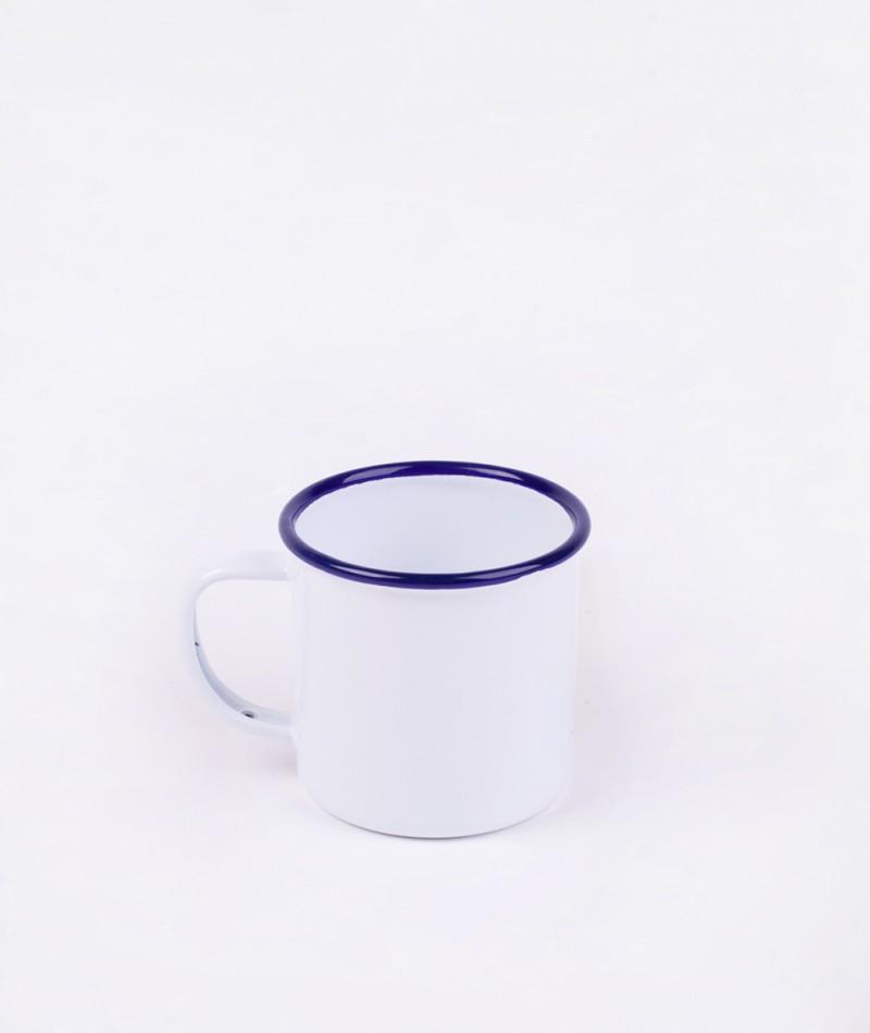 FALCON Mug original white blue