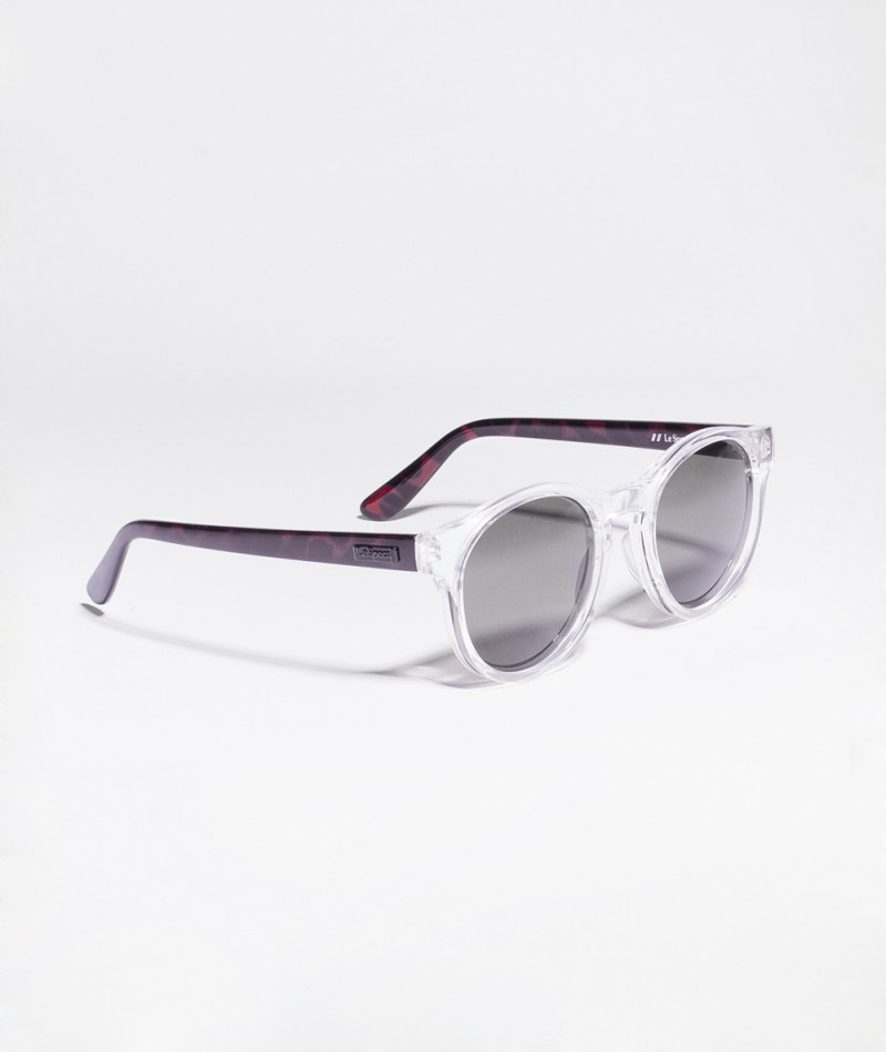 LE SPECS Hey Sonnenbrille clear tort