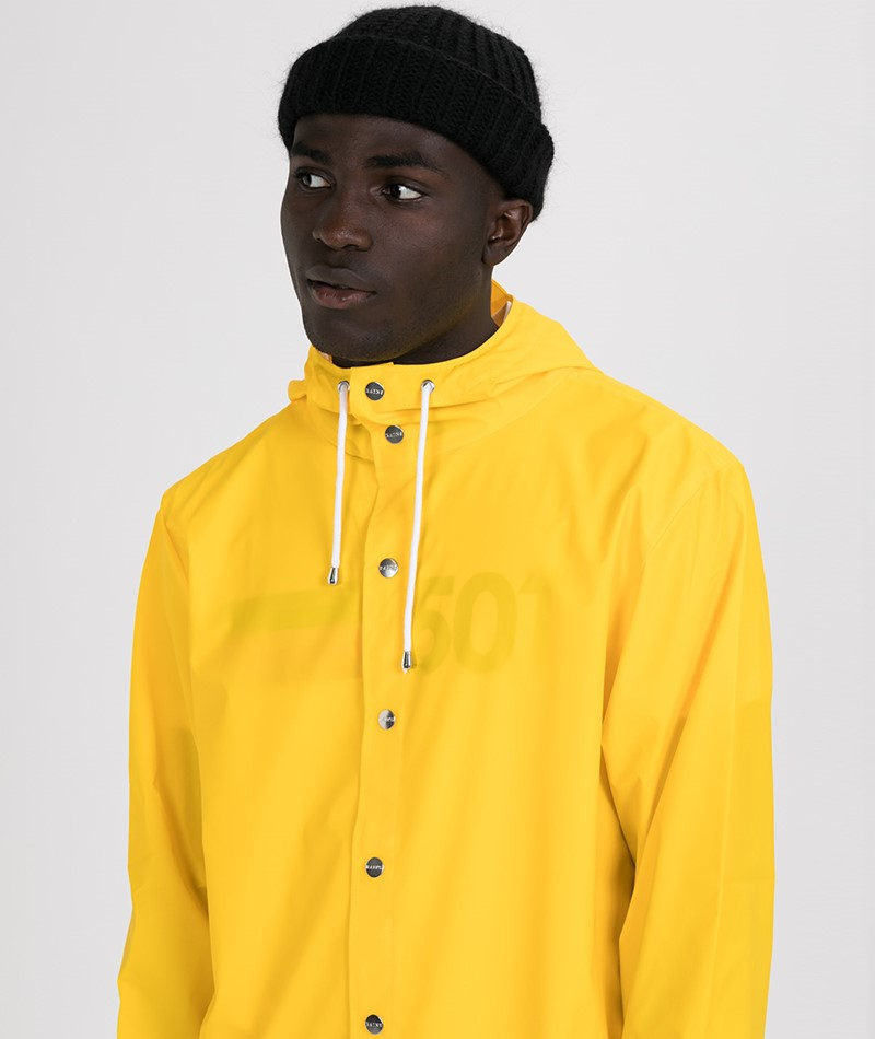RAINS Unisex Regenjacke yellow