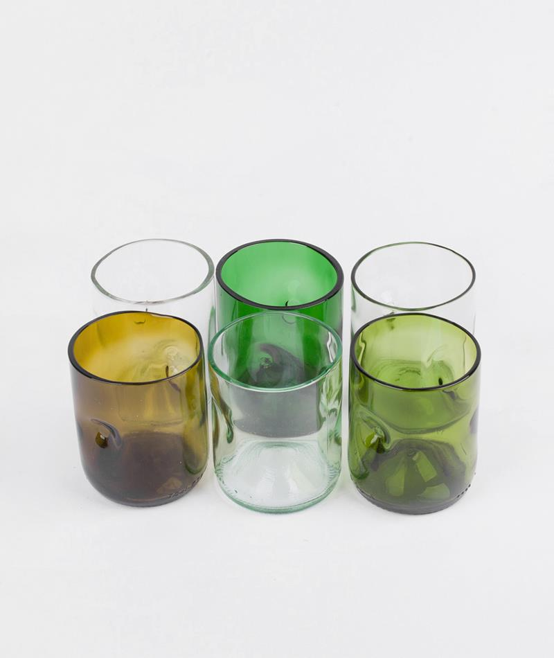 JESPER JENSEN Set of 6 small glasses