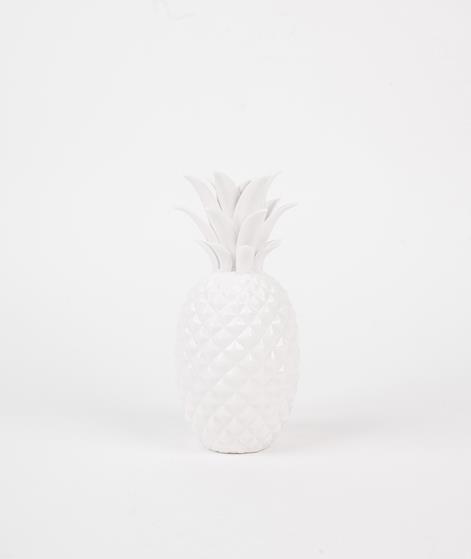 BLOOMINGVILLE Pineapple Deko white
