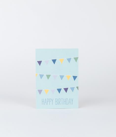 PAPIER AHOI Happy Birthday Wimpel