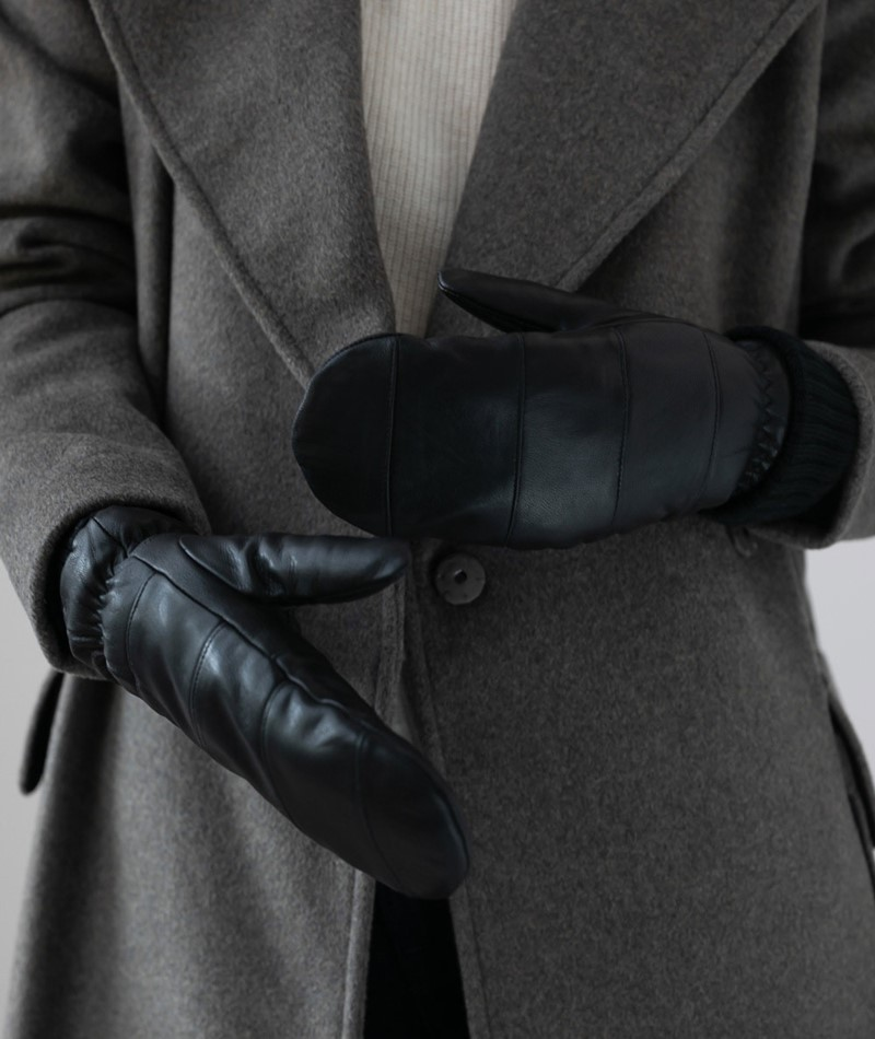 M BY M Mittens Read Handschuhe black