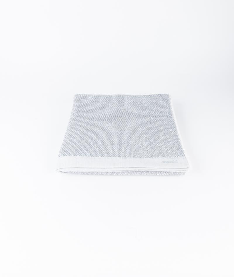 MERAKI Duschhandtuch white grey